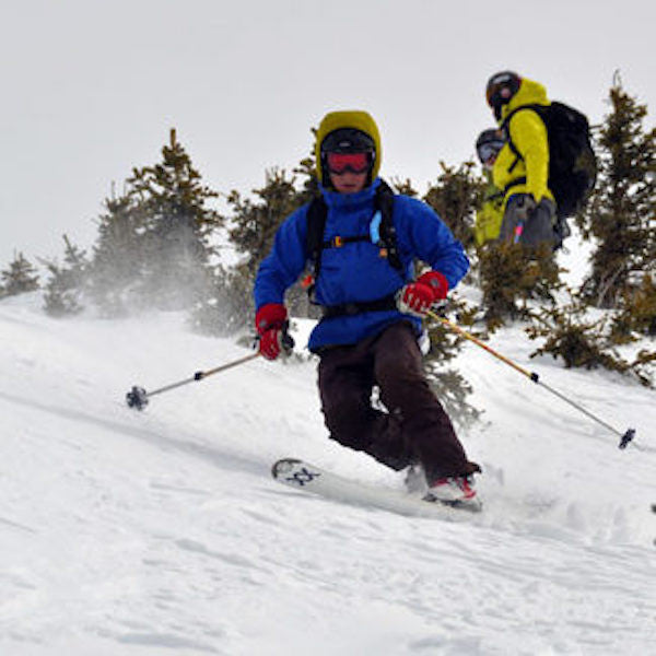 Beta for skiing Colorado's Sky Chutes via Breck