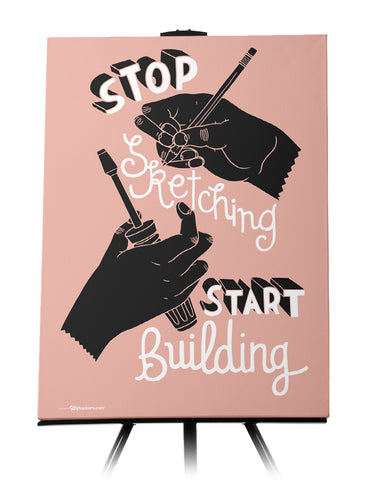 Canvas - Stop sketching. Start building.  - 1