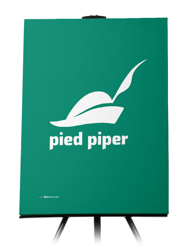 Canvas - Pied Piper Logo Canvas from the TV Series Silicon Valley on HBO 24x36 - 1
