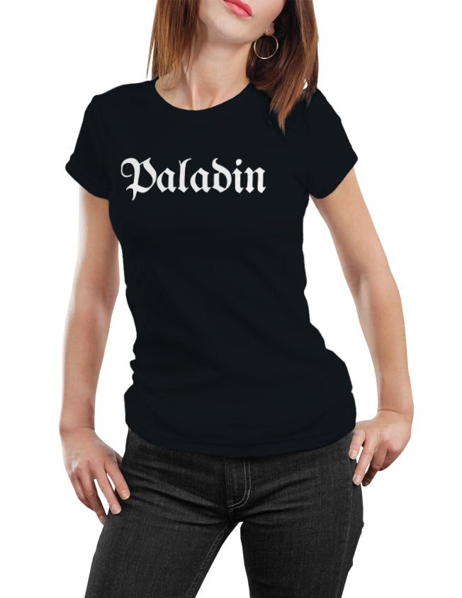 Paladin Fantasy RPG Class Title T-Shirt