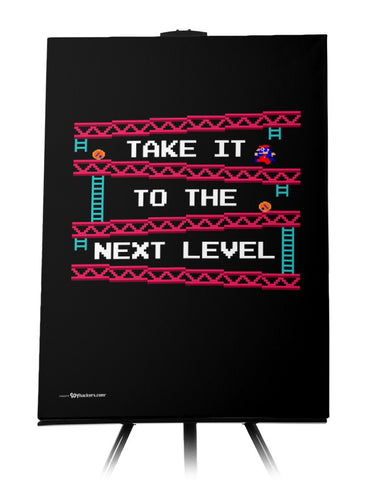 Take It To The Next Level Donkey Kong Canvas