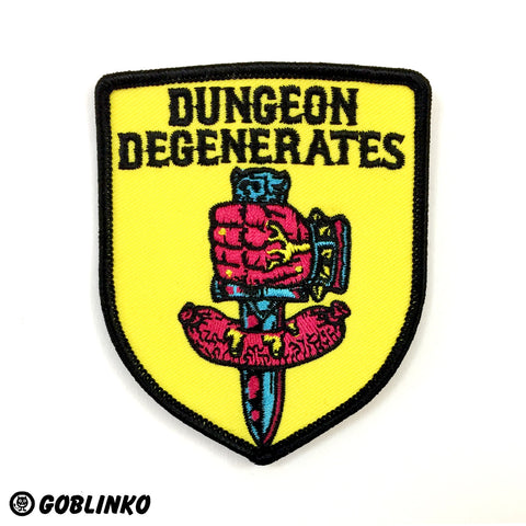 "Dungeon Degenerates Adventurer Poster - Hinterlander - 11"" x 17"""