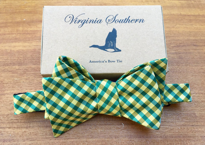 William and Mary W&M College University Silk Bow Tie
