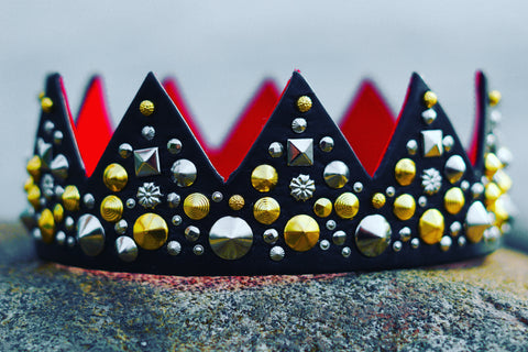 Black Red Bottom King's Crown