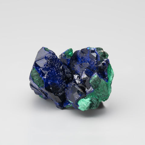 Azurite with Malachite From Milpillas Mine, Cuitaca, Sonora, Mexico (19.6 grams)