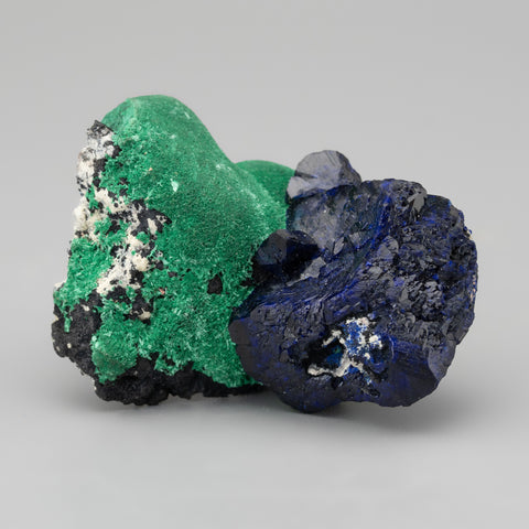 Azurite with Malachite From Milpillas Mine, Cuitaca, Sonora, Mexico  (34 grams)