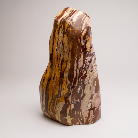 Large Polished Natural Zebra Jasper from India (25 lbs)