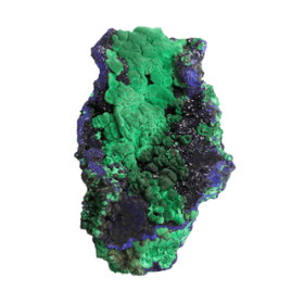 Azurite with Malachite from Liufengshan Mine, Chizhou Prefecture, Anhui Province, China (3.65 lbs)