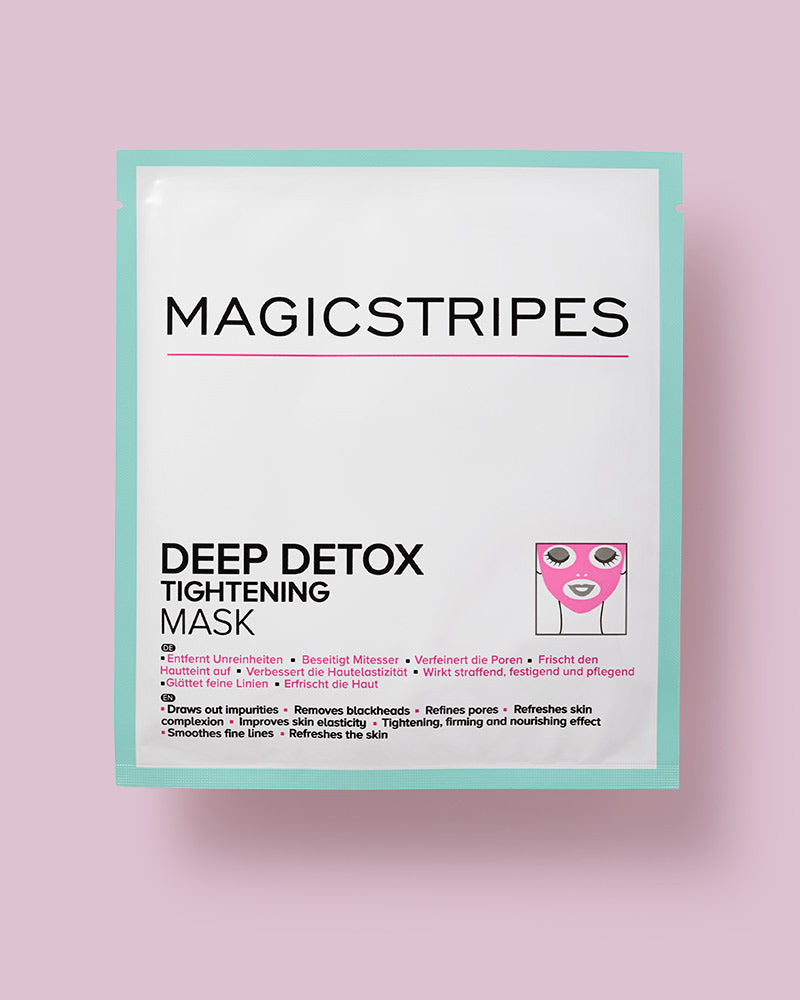 DEEP DETOX TIGHTENING MASK  - 1 MASK - MAGICSTRIPES