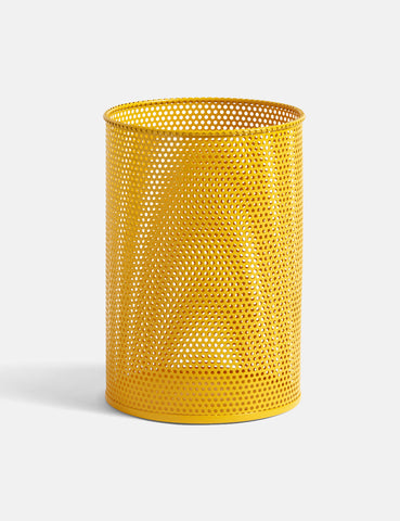 Hay Perforated Bin (Medium) - Yellow