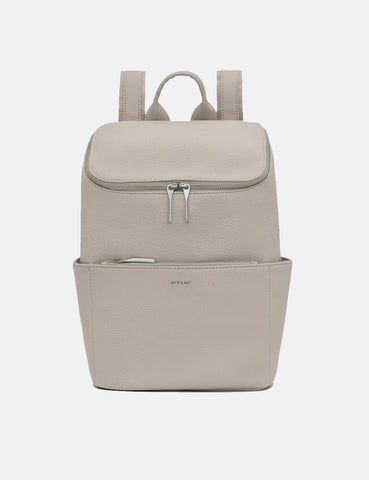 Matt & Nat Brave Backpack - Koala Matte Nickel Grey