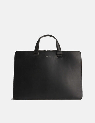 Matt & Nat David Briefcase - Black