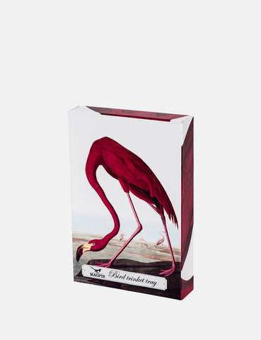 Cubic Flamingo Trinket Tray (Large) - Pink - Article