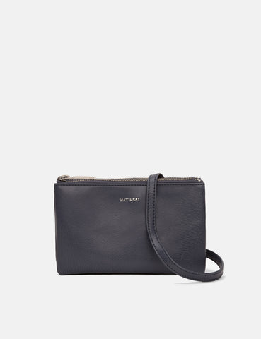 Matt & Nat Triplet Shoulder Bag - Ink Grey