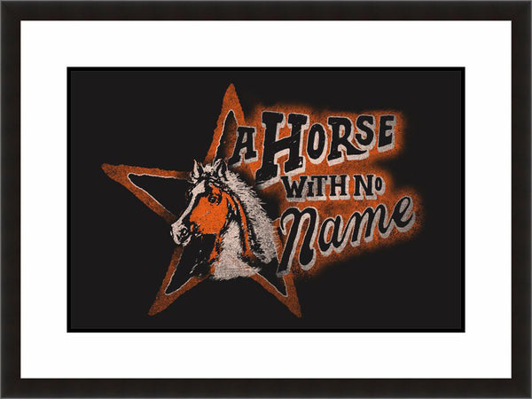 A Horse With No Name - Lyric Culture  - Fine Art Photograph by Lyric Culture  - Framed Wall Art