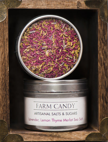 FC Salts Sugars & Spices-Lavender Lemon Thyme Merlot Salt