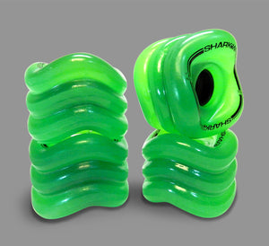 Shark Wheel Maco green translucide - Ride More