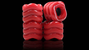 Shark Wheel California Roll 60mm 78a rouges (jeu de 4 roues)