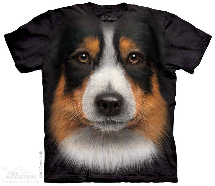 Big Face Australian ShepherdT Shirt