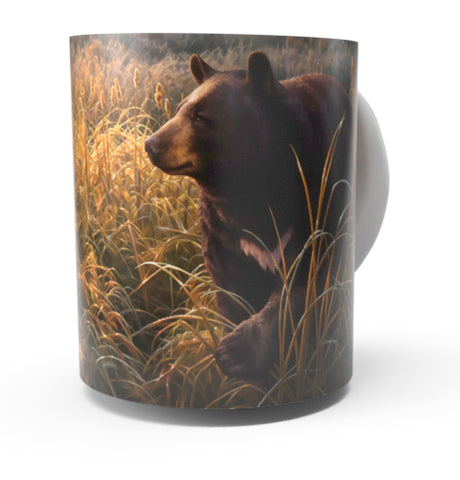 BLACK BEAR COFFEE MUG-Art by Greg Alexander