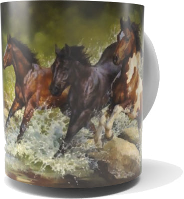 HORSE COFFEE MUG-Art by Bonnie Marris