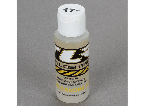 Silicone Shock Oil, 17.5 Wt, 2 oz  by Team Losi Racing