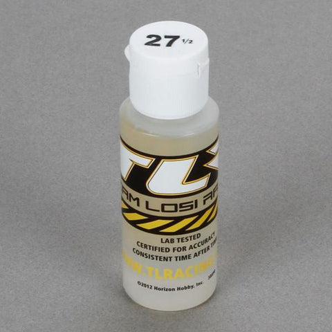 Silicone Shock Oil, 27.5wt, 2oz (TLR74005)