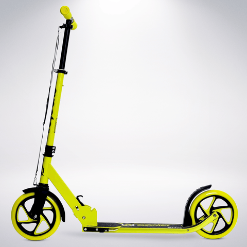 EXOOTER M1475VG 5XL Teen Kick Scooter With 200mm Wheels In Vibrant Green.