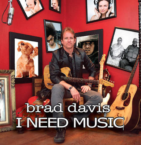 I NEED MUSIC - americana CD electric version