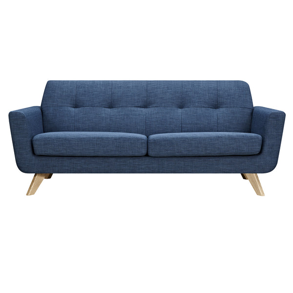 Stone Blue Dania Sofa - Natural