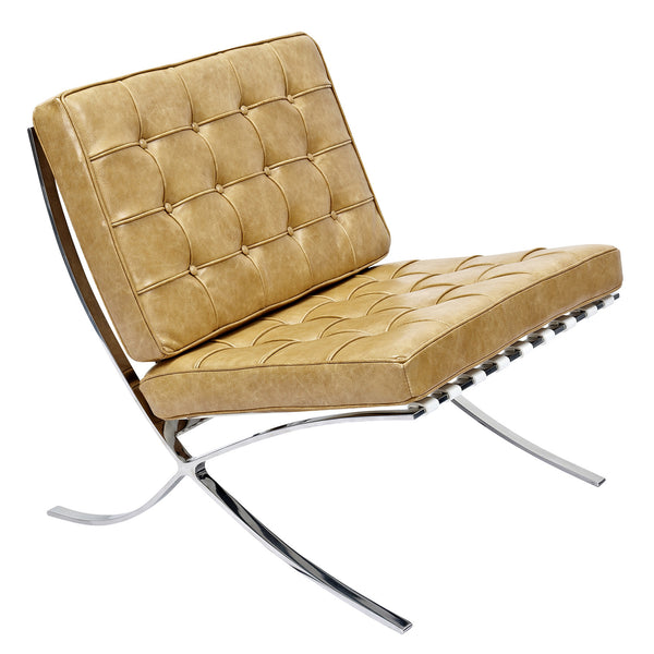 Aged Maple Mies Chair