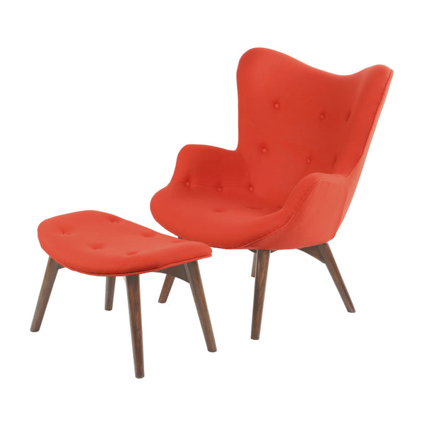 LAVA RED AIDEN CHAIR