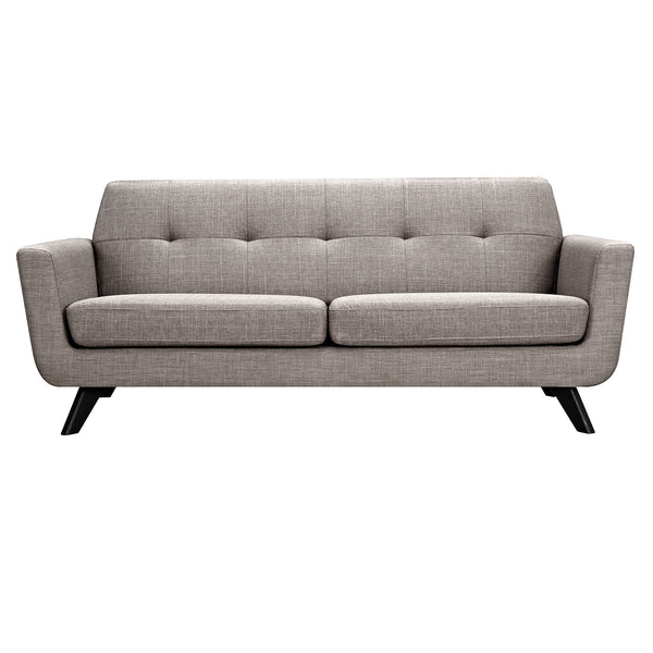 Aluminium Gray Dania Sofa - Black