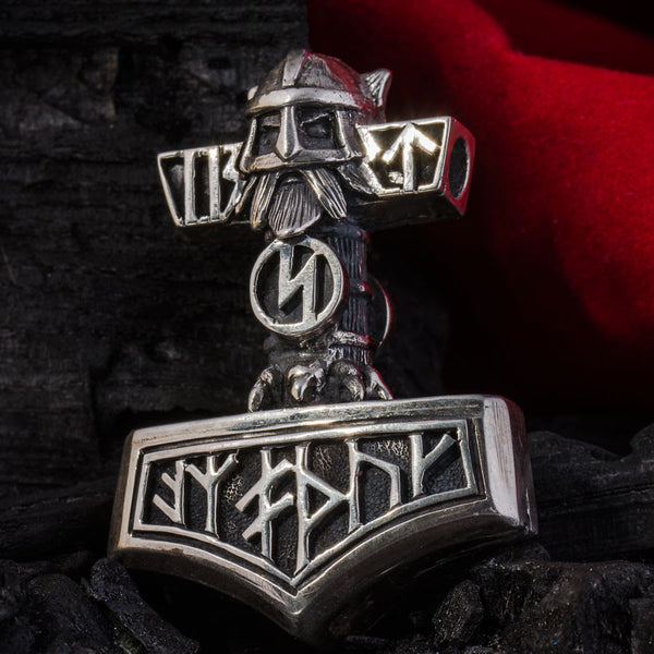 "thor's hammer ""wolf and warrior"""