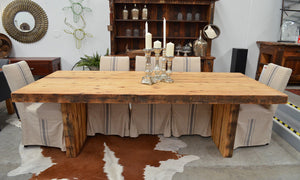 Old London Driftwood Dining Table