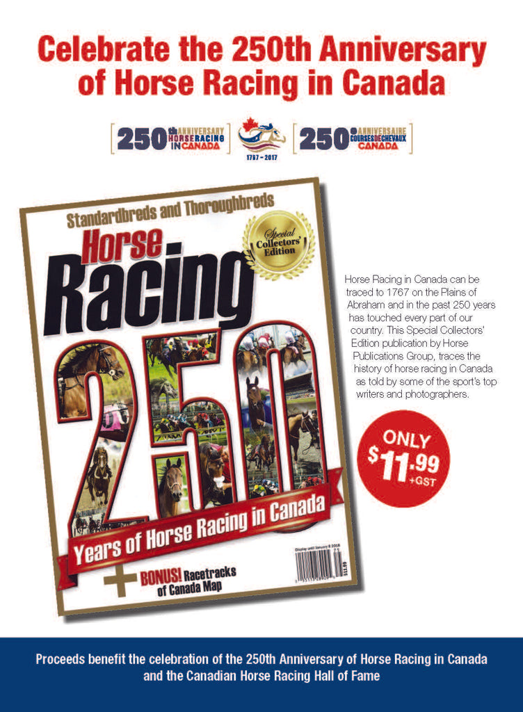 Horse Racing:  250 Years of Horse Racing In Canada