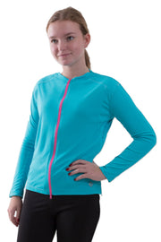 The Jenny - Girl's Easy Dressing Adaptive Athletic Long Sleeve Top