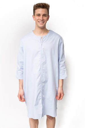 The Dale - Unisex Luxurious Easy Dressing Hospital Gown