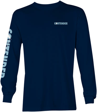 Contender Deep Blue Navy Long Sleeve
