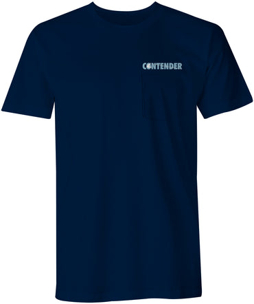 Contender Deep Blue Navy Short Sleeve
