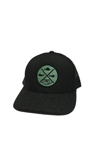 Kluch Grand Slam Black Heather/Black Trucker Hat