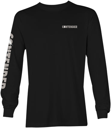 Contender Nighty Black Long Sleeve T Shirt