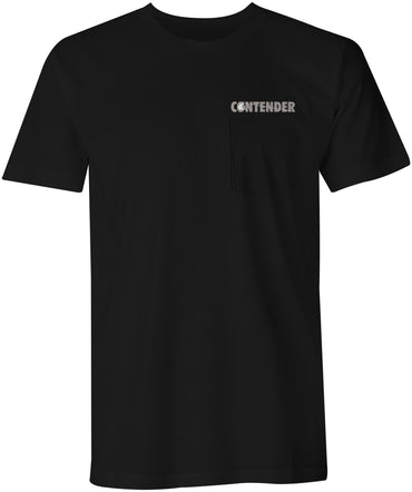 Contender Nighty Black Short Sleeve