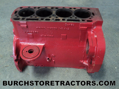Farmall 140 Tractor Engine Block