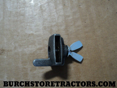 Hydraulic Lever Stop with Wing Nut for Farmall Tractor