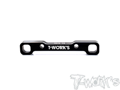 TE-215-R 7075-T6 Alum. Rear Lower Sus. Mount ( Rear ) For TEKNO EB410