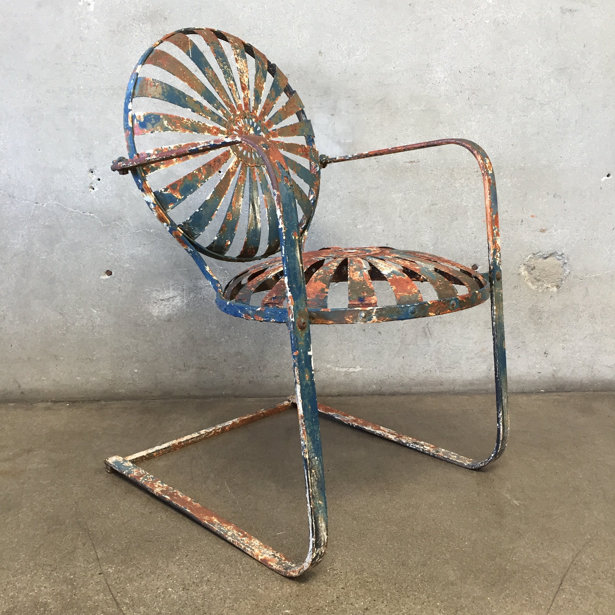 Sunburst Fracois Carre Rocking Chair