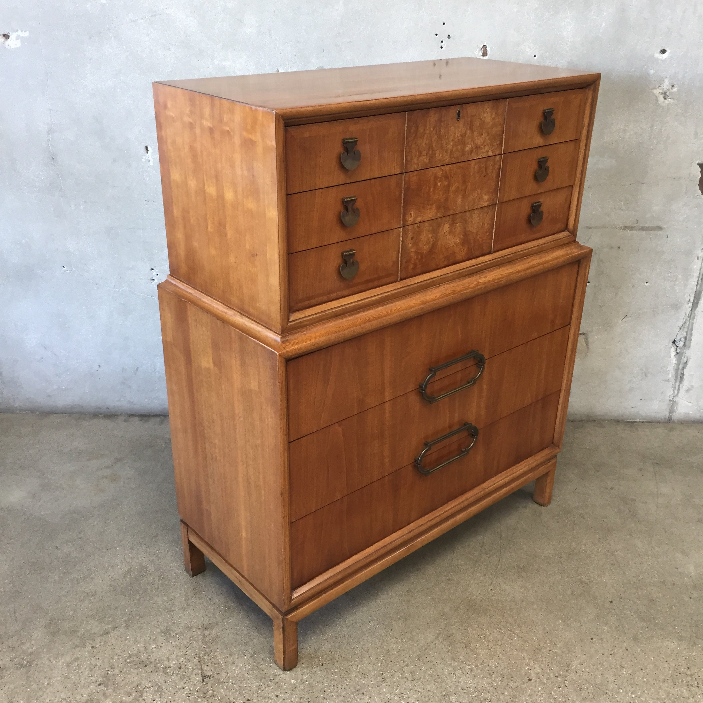 Mid Century Thomasville Highboy Dresser