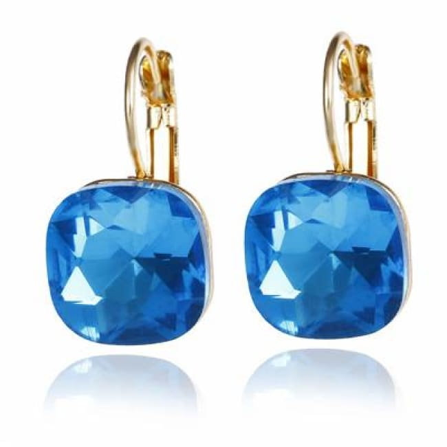 (Clearance) Fashion Crystal Earrings (6 Colors Available) - Lanse