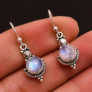 (CLEARANCE) Elegant Sliver Moonstone Earrings